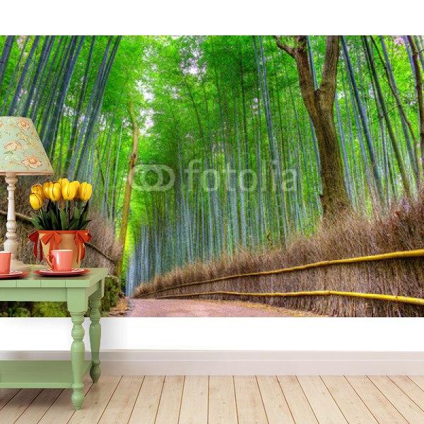 【壁紙】京都の竹林はがせる壁紙